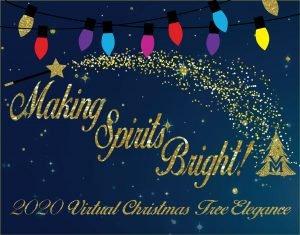 Valle Monte Christmas Tree Elegance 2020 Vidoe home   Valle Monte League